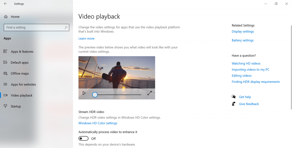 Automatically process video to enhance it